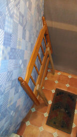 Double mattress, Single devan base & headboard used condition
