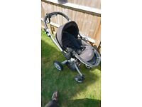Graco symbio b pushchair with carrycot