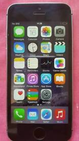 Iphone 5s unlocked black,white and gold, 16gb mint condition