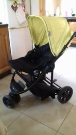 Mama's and papa's 2 in 1 pram and pushchair also a mamas an papas stand