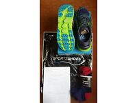 Hoka Challenger ATR 2 trail shoes, size UK 10, used once, still with original packaging