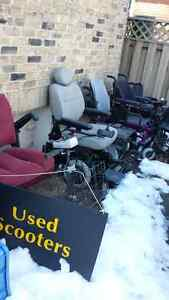 Used scooters, wheelchairs, battery, parts, walkers, etc, low $