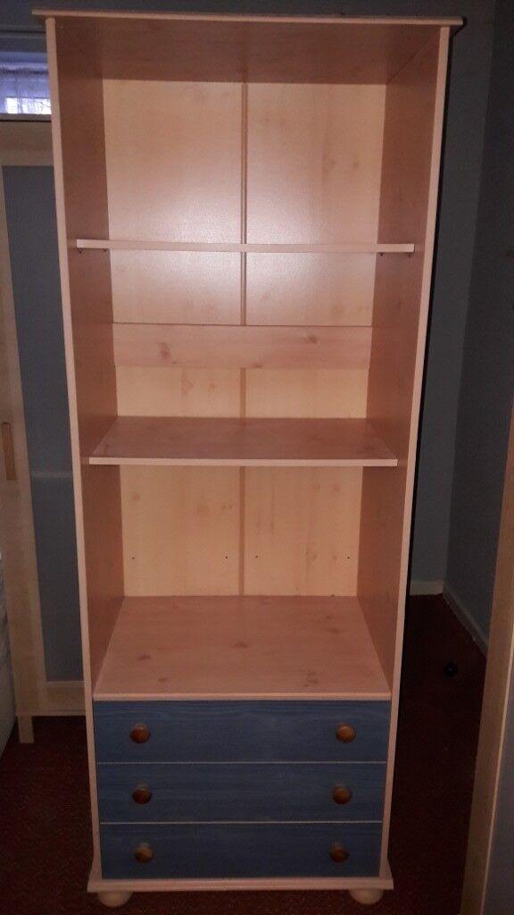 bedroom shelving  drawer unit  in strelley