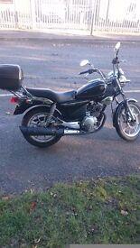 Yamaha 125 ybr. 2012 1 Owner
