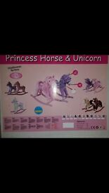 Pink Princess Rocking Horse