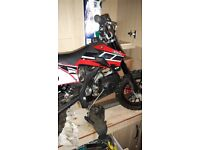 50cc kids bike kxd for spares only full bike read add