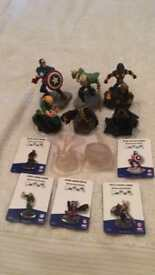 8 Disney Infinity 2.0 Figures