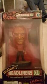 Rare Freddy Kruger figure