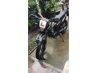 SINNIS APACHE 125cc LOW MILEAGE
