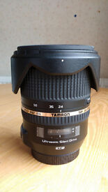 Tamron 24-70mm f2.8 VC for Canon