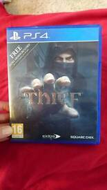 THIEF PS4 SQUARE ENIX GAME USED