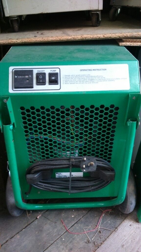dehumidifier with pump out