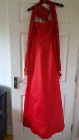 Red dress size 10