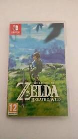 Zelda BotW for Switch
