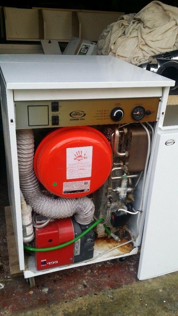 Boiler Grant Vortex Pro Combi 26e Oil Deposit Taken