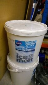 Large bucket ice melt