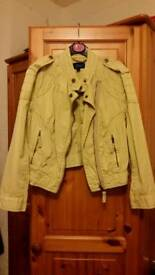 Top Shop cream jacket Size 6 Ex.Cond.