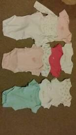 Baby girls vests