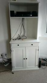 ***Sale*** Ikea corner desk cabinet. good condition. From smoke and pet free house.
