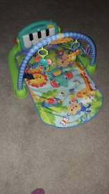 Only 4mths old - Fisher-Price Kick n Play Piano Gym