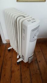 Dimplex Oil filled portable radiators (2)