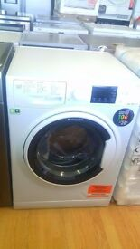 HOTPOINT WASHING MACHINE new ex display which may have minor marks or blemishes.