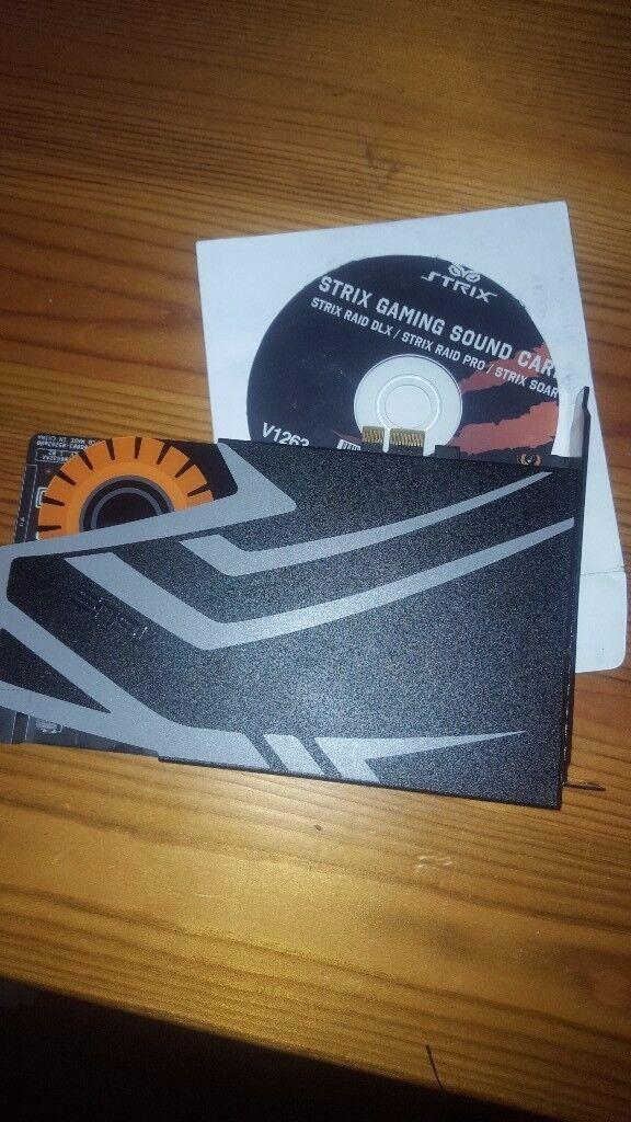 7.1 Asus strix gaming sound card