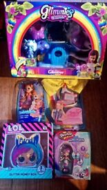 Shopkins LOL doll JoJo bow enchantimals glimtree brand new in box