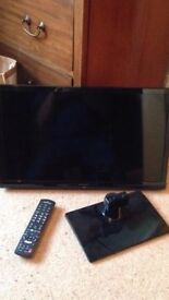 24 inch Colour Flat screen TV – ideal for Christmas: Panasonic TX-24CS500B 24in Colour TV in Black