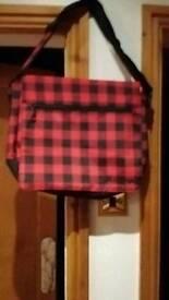 New. Shoulder bag suitable for college/ school