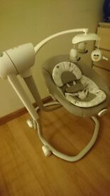 This versatile rocker allows you to find the range of movement that will best suit your baby.
