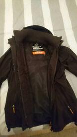 Superdry Jacket Coat Windproof - Mens
