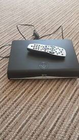 Sky+ hd box Wi-Fi+ remote and viewing card