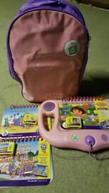 Pink leapfrog console