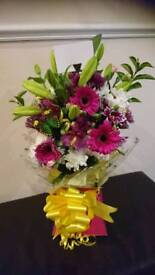 A bouquet for a occasions Christmas orders been taken payment cash or paypal