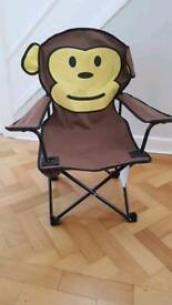 Kids Foldable Monkey Chair