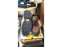 Amblers steel toe cap shoes