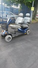 two seater mobility scooter