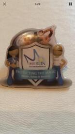 Alton Towers Merlin Pin Badges Protect the Magic Team Merlin Magic Wand Staff