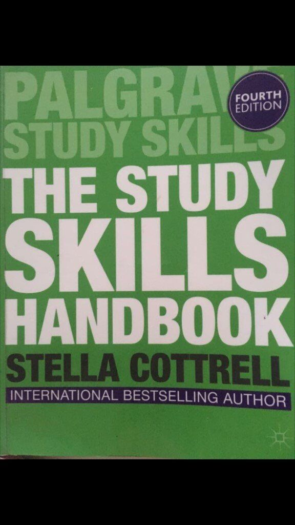 The Study Skills Handbookin Westminster, LondonGumtree - This book is probably the reason why I managed to graduate as a Valedictorian and an average of 75% from UCL Institute of Education. I live around Paddington, so I would prefer if you could pick it up. If you live far away I would also be happy to...