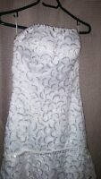 Wedding dress size 0-6