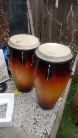 Pair of Meinl Congas - GONE