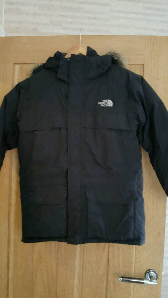 North Face Boys Coat Age 10 12 In Salford Manchester