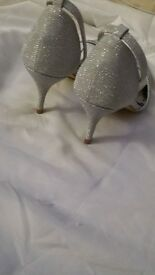 Women's ladies high heel shoes sparkle diamanté size 6 bargain new no swaps why