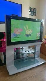 """37"""" Panasonic viera tv with built in stand"""