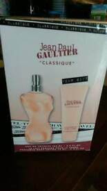 New johnpaulgaultier Classique gift set