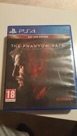 Metal Gear Solid Phantom Pain PS4 game