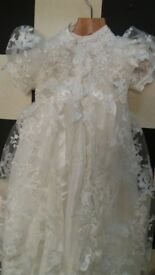 girls long christening gowns