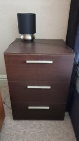 Bedside Tables with soft closers x 2