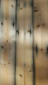 Reclaimed Red Pine Flooring